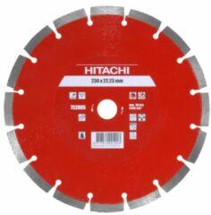 Hitachi Accessoires Diamant Zaagblad 230X22,2X10Mm Type Baksteen Laser