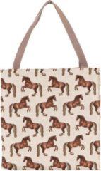 Bruine Signare - Boodschappentas groot - Whistlejacket - Paarden - George Stubbs - Paard