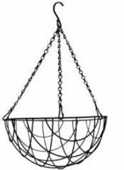 Express Hanging basket zwart gecoat - Hanging basket Ø 40 cm