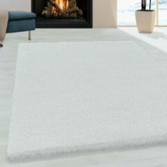 Impression Himalaya Pearl Soft Shaggy Hoogpolig Vloerkleed Wit - 140x200 CM
