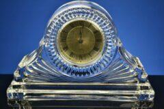 Transparante Nee Kristallen klok pendule