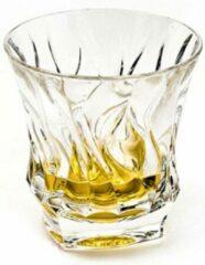 Bohemia crystal Schitterende BAMBOO whisky glazen (6 stuks) van kristalglas