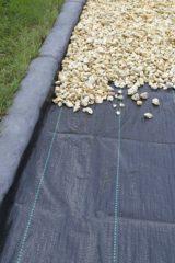 Totalflooring.nl Anti worteldoek gronddoek zwart 100 x 2.10 mtr 120 gr p/m²