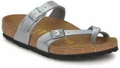 Zilveren Birkenstock Mayari - Slippers - Dames - Maat 35 - Zilver