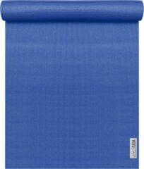 Blauwe Yogistar Yogamat plus royalblue