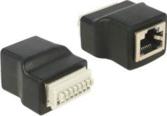 DeLOCK Adapter R-J45 Buchse - Terminalblock