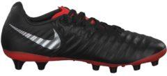 Fußballschuh Tiempo Legend VII Pro AG-Pro mit elastischen Einsätzen AQ0432-001 Nike Black/Metalic Silver-Lt Crimson