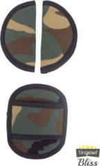 Bliss Gordelbeschermer - Gordelhoes voor Maxi Cosi met 3 puntsgordel - Camouflage