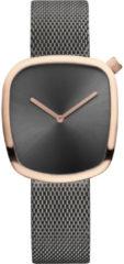 Donkergrijze Bering Horloge 18034-369