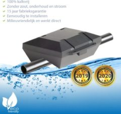 Zwarte ✅ Waterontharder Black Edition - voor alle Stalen waterleidingen (magneet waterleiding) ☆ Water ontharder | Antikalk | Kalkaanslag | Water ontkalker | Waterverzachter | Magnetisch | Waterontkalker | ☞ Vaderdag TIP (geschenk / cadeau)