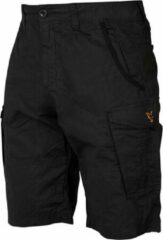Zwarte Fox Collection Combat Shorts - Black/Orange - Maat S