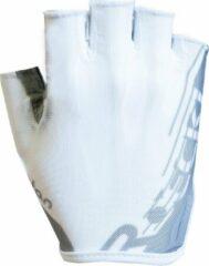 Zilveren Roeckl Inline collectie Unisex Fietshandschoenen Maat M/L