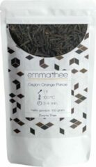 Emma Thee Ceylon Orange Pekoe - Zwarte Thee - Sri Lanka - Ceylon - Losse thee - 100 gram