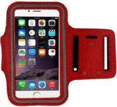 Go Go Gadget Sport Armband - Universeel - Verstelbaar - Hardlooparmband - Spatwaterdicht - Bescherming - Lichtgewicht - 85 x 165 mm (5,5 inch) - Rood
