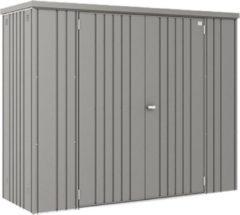 Biohort Tuinkast GR150 kwartsgrijs metallic 2 deurs - 155x83x182,5cm