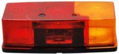 Transparante Hella 3 kamer achterlicht Rechts met kentekenverlichting 158x64x51 mm
