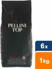 Pellini - TOP 100% arabica Bonen - 6x 1 kg