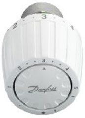 Witte Danfoss thermostaatkop ingebouwde voeler servicemodel RA/VL 2950