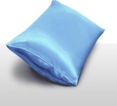 InSilk Zijden Kussensloop Lichtblauw 50 X 70 cm - 100% Moerbei Zijde