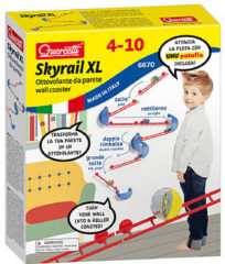 Quercetti Skyrail Xl Muurrails Knikkerbaan 15-delig