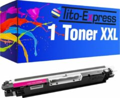 Tito-Express PlatinumSerie PlatinumSerie� 1 Toner XXL Magenta compatibel voor HP CE313A 126A
