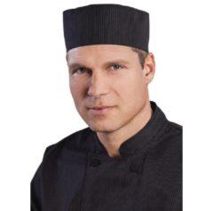 Zwarte Chef Works Cool Vent krijtstreep beanie
