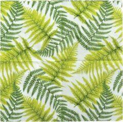Groene Esschert design Papieren servetten varen 25x25 cm