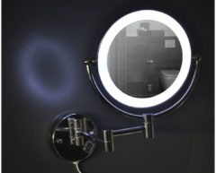 Saqu Wand Scheerspiegel met LED verlichting