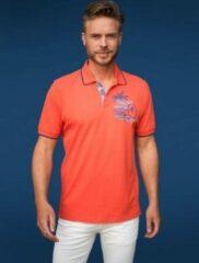 Oranje GCM heren poloshirt orange/coral - maat L
