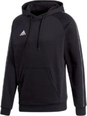 Adidas Core 18 Hooded Sweater Sporttrui casual - Maat S - Mannen - zwart