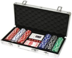 Pokerset 300 Poker Chips with Aluminiumcase (11 5 Gramm Chips DELUXE)