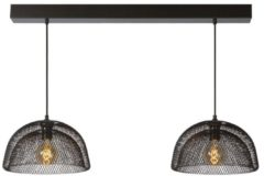 Antraciet-grijze Lucide MESH - Hanglamp - E27 - Antraciet