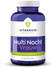 Vitakruid Multi Nacht Vrouw Tabletten 90st