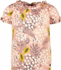 Roze Like Flo Unisex blouses Like Flo Flo girls AO woven open shoulder to Pink papaya 128