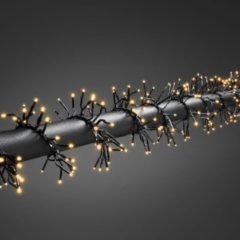 Konstsmide 3862-800 Clusterlichtketting Buiten Energielabel: LED werkt op het lichtnet 768 LED Amber Verlichte lengte: 5.8 m