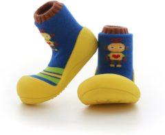 Gele Attipas Robot geel babyschoenen, maat 20