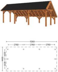 Trendhout | Kapschuur De Hoeve XL 9.26m | Combinatie 6