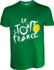 Tour de France Officiële T-shirt - Groen - Maat XL