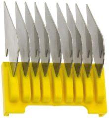False Wahl / Moser / Ermila - Opzetkam - Type 19 - Plastic met Metalen Lamellen - Nr. 5 - 16 mm