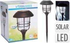 Pro Garden Progarden Solar tuinlamp 170 x 58,5 cm - alu met glas
