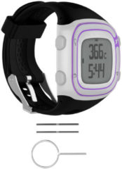 Meco Silicone Wrist Band Strap +Tools for Garmin Forerunner 10/15 GPS Running Watch