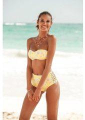 Groene Sunseeker highwaist-bikinibroekje