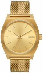 Nixon Time Teller All Gold Horloge A1187-502