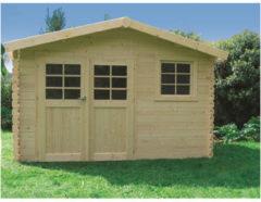 Solid tuinhuis 'Chimay' geïmpregneerd hout 9,18 m²