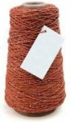 Vivant Cotton Cord Lurex/ Katoen touw 300 meter warm rood /goud ø2mm