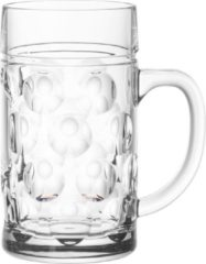 House of Merchant Unbreakable Beer mug 1,3 litres - ⌀ 16,3 x 19,9 cm / Transparent / Round