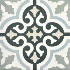 Cifre Ceramica Cifre Cerámica Vloer- en wandtegel Urban Decor Calipso 20x20 cm Vintage Mat Multi SW07310470-6