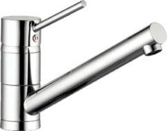 Kludi Scope keukenkraan met draaibare uitloop 360 graden chroom 339330575