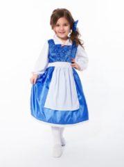 Little Adventures Blauwe Belle jurk - maat 128/140