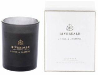 Riverdale Geurkaars Elegance wit 10cm